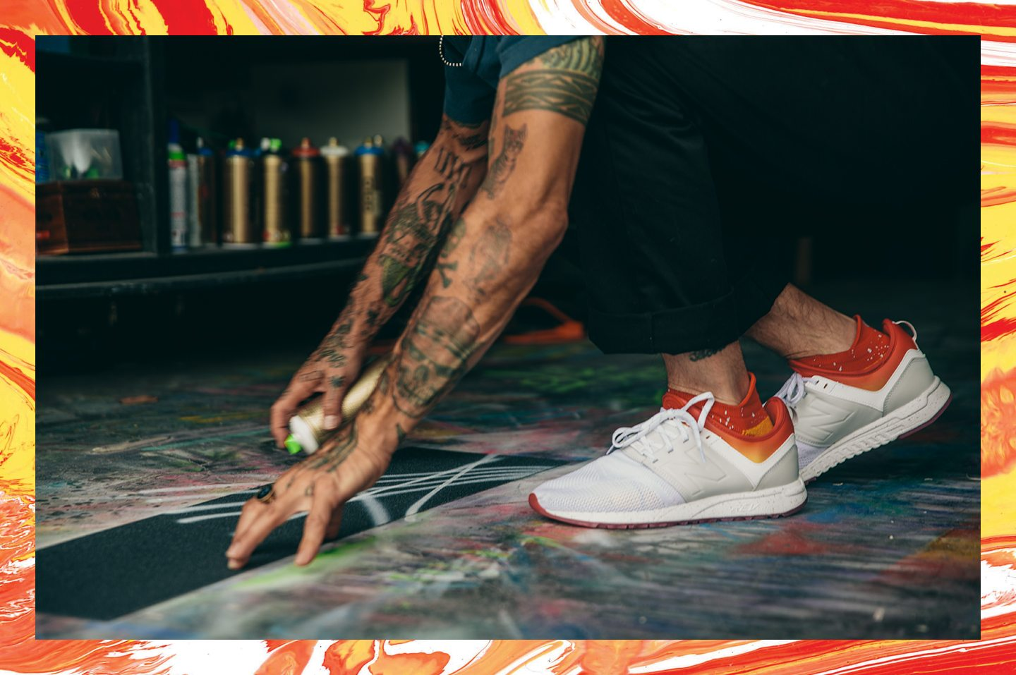 """Stance x New Balance 247 """"All Day All Night"""" Pack"""