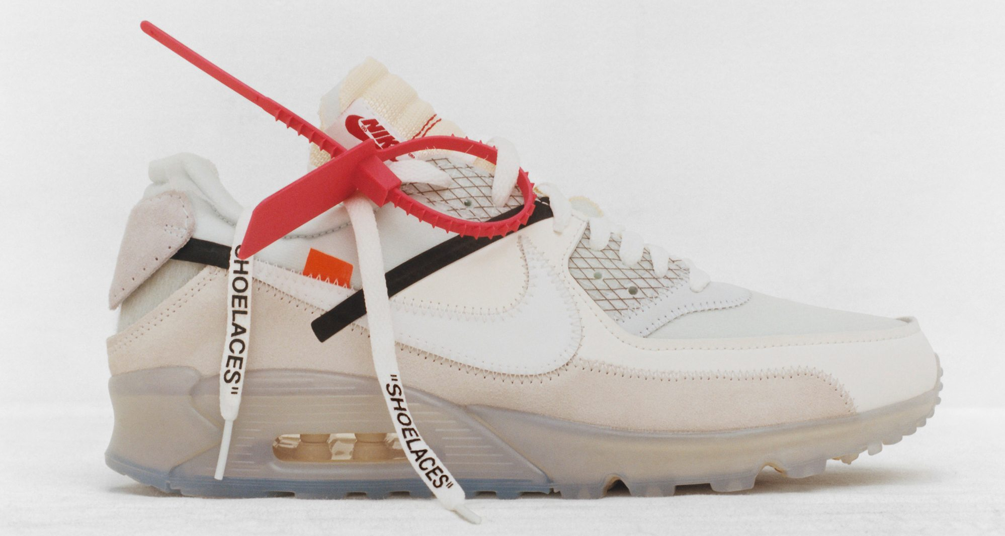 nike air max 90 off white stock