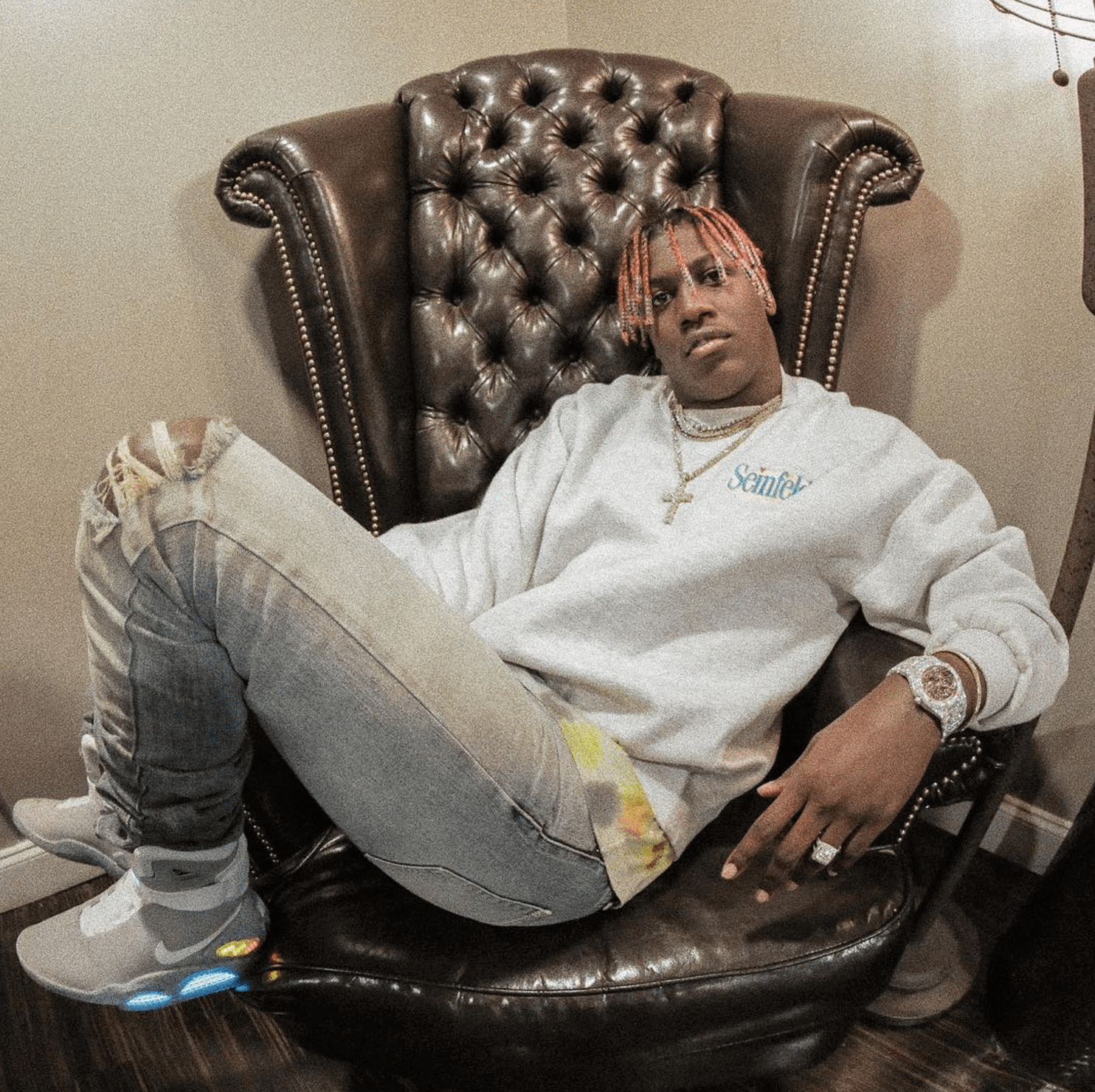 Lil Yachty in the Nike Air Mag