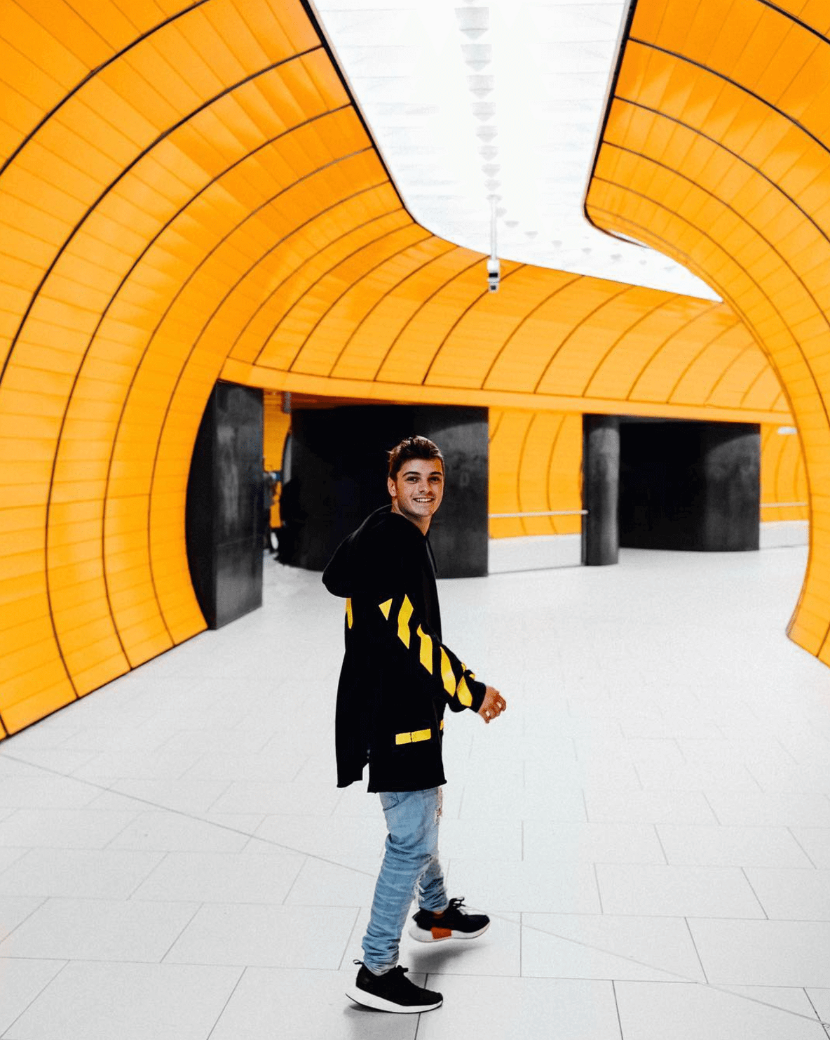 Martin Garrix in the NMD R2