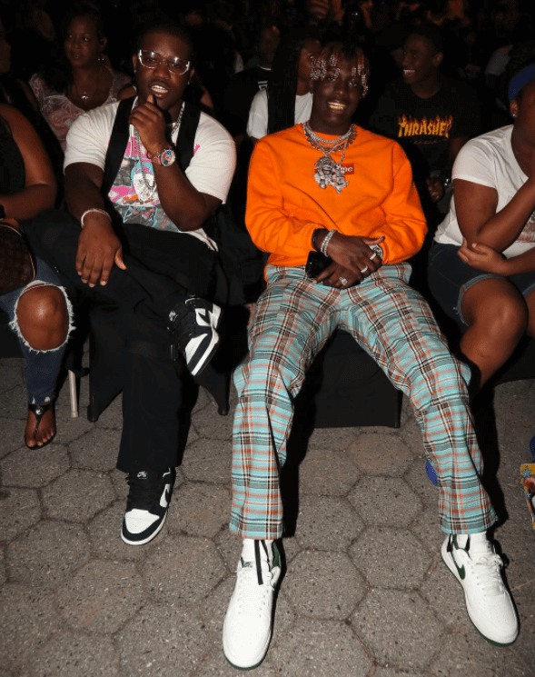 Asap Ferg in the Nike Dunk Low & Lil Yachty in the Nike Air Force 1 Retro