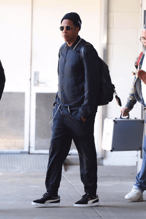 Jay Z in the Puma Clyde