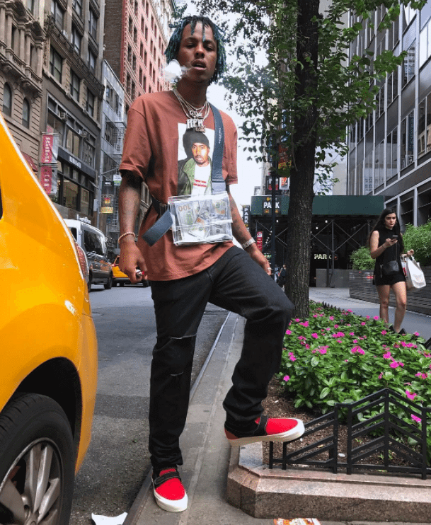 Rich the Kid in the Fear of God x Vans Slip-On Style 147