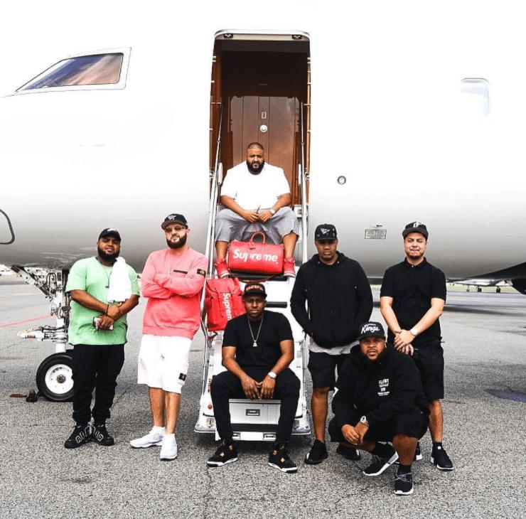 "DJ Khaled in the DJ Khaled x Air Jordan 3 ""Grateful"""