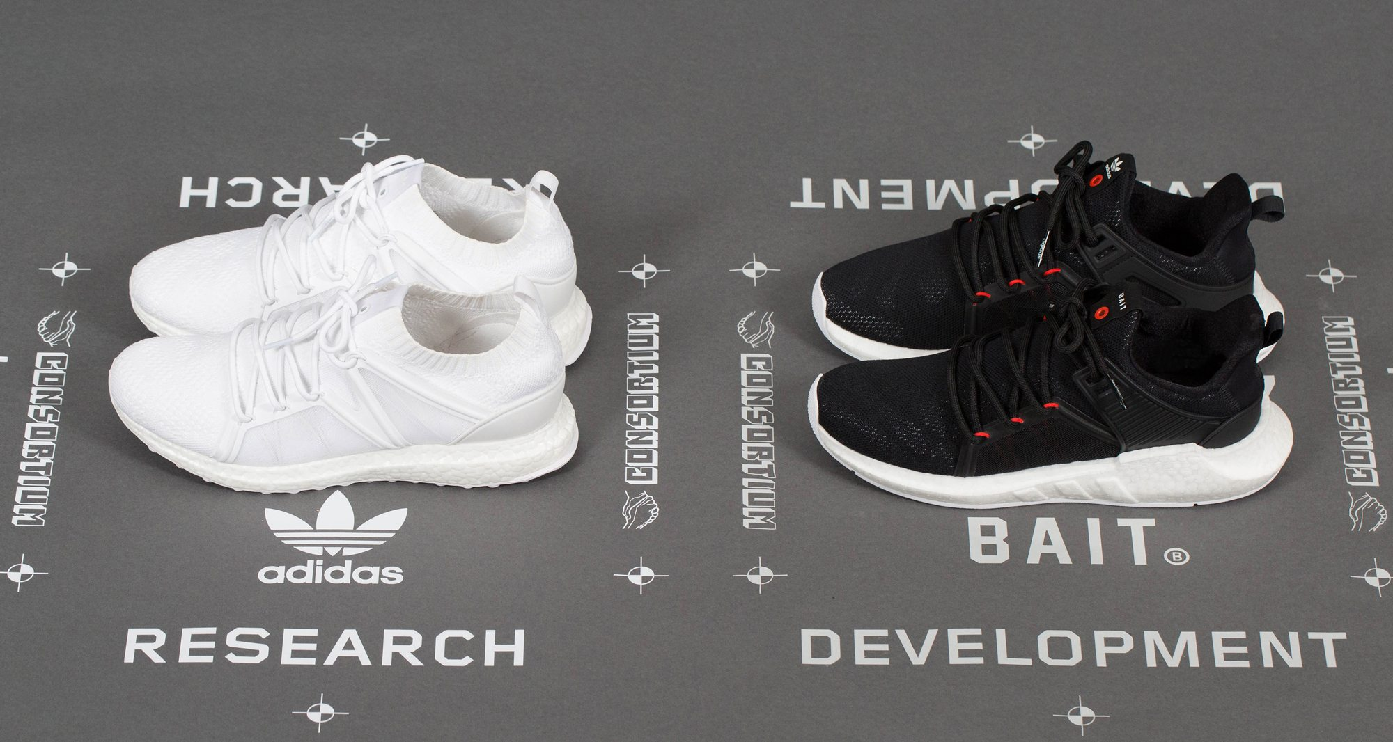 "BAIT X adidas Consortium M.O.D. Cage EQT Support ""R&D"" Pack"