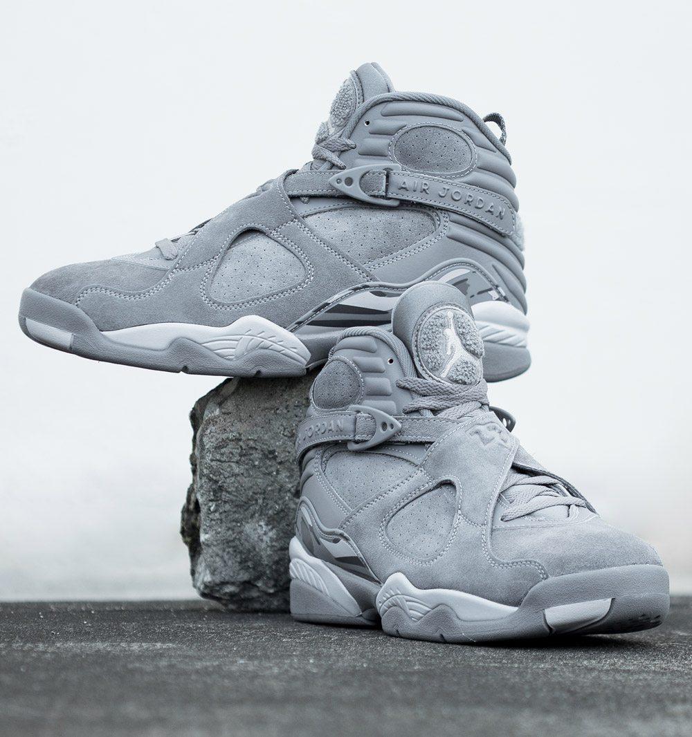"""Air Jordan 8 """"Cool Grey"""""""