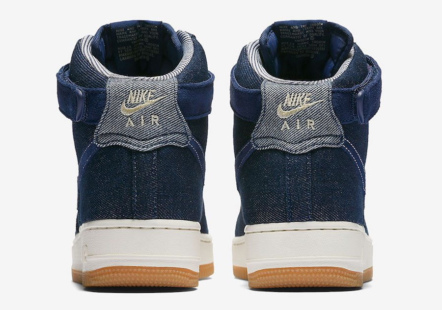 "Nike Air Force 1 High ""Denim"""