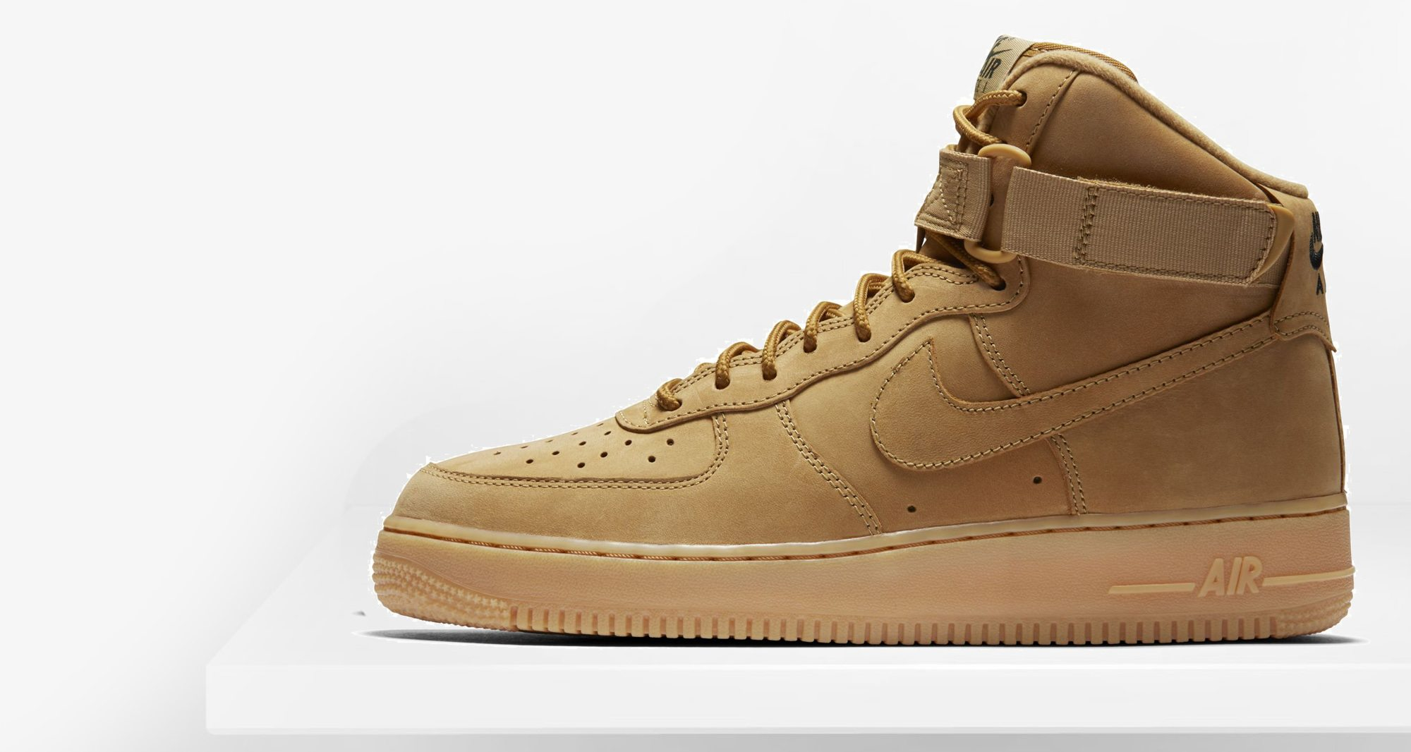 nike air force 1 high lv8 flax release date nice kicks. Black Bedroom Furniture Sets. Home Design Ideas
