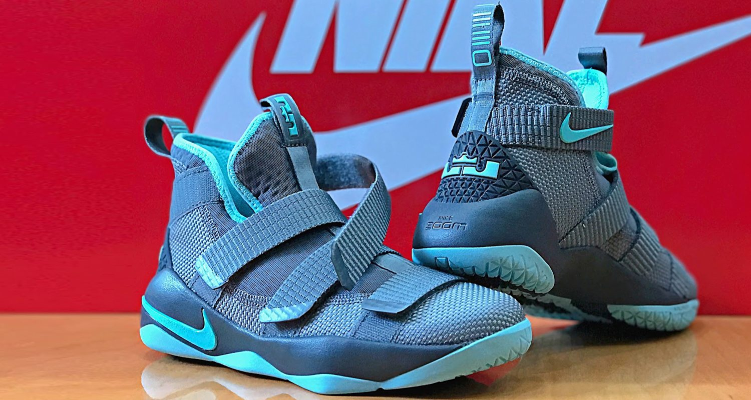 "Nike LeBron Soldier 11 GS ""Island Green"""