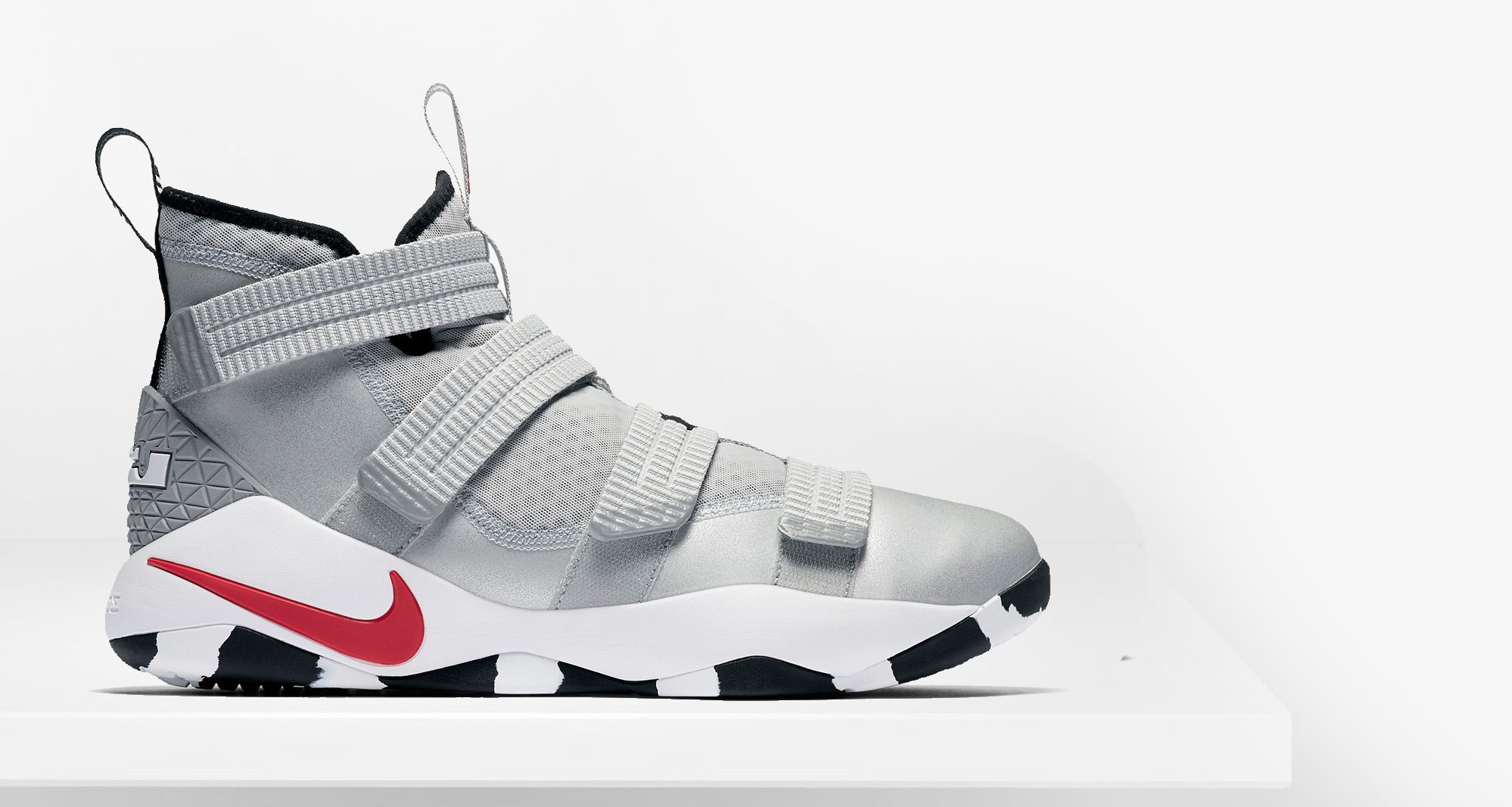 "Nike LeBron Soldier 11 ""Silver Bullet"""