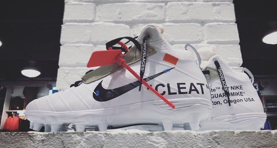 Off-White x Nike Cleats Custom