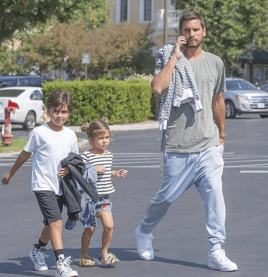 Scott Disick in the Nike Air Force 1 Low