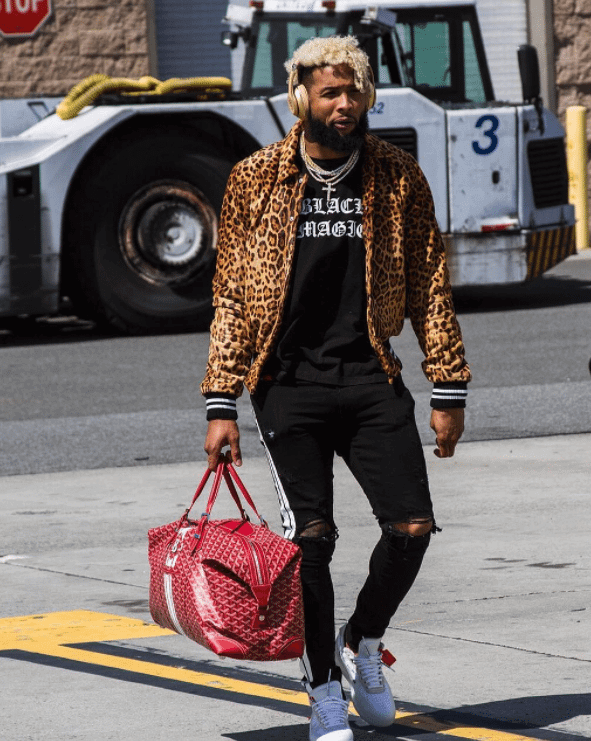 """Odell Beckham in the The Ten """"Air Force 1"""""""