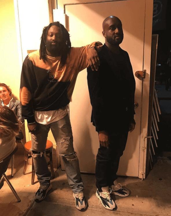 Tremaine Emory & Virgil Abloh in the Yeezy Wave Runner & Virgil Abloh