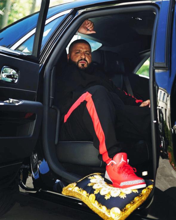 "DJ Khaled in the Air Jordan 3 Retro ""Grateful"" PE"
