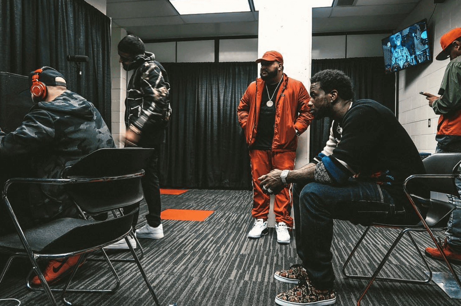 Nav in the Nike Air Force 1 Low & Belly in the Nike Air Zoom Generation & Gucci Mane in the Dolce&Gabbana Sneakers