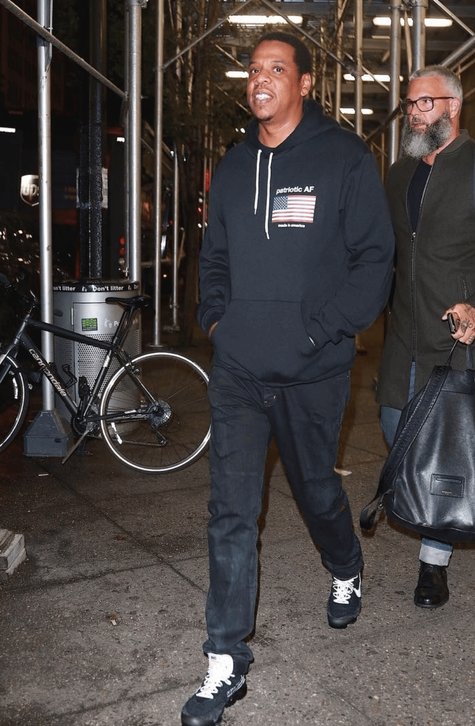 Jay Z in the Nike The 10 Air Vapormax