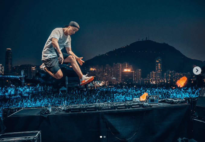 Kygo in the adidas NMD R2