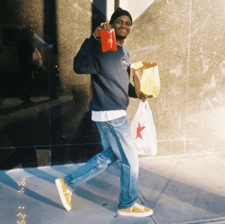 ASAP Nast in the ASAP Nast x Converse One Star