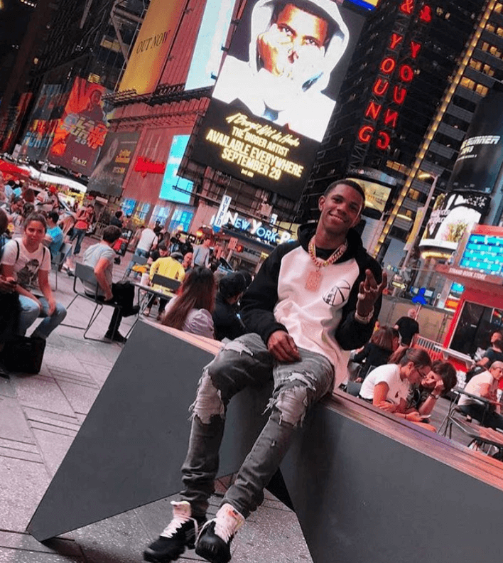 "A Boogie wit da Hoodie in the The 10 ""Air Vapormax"""