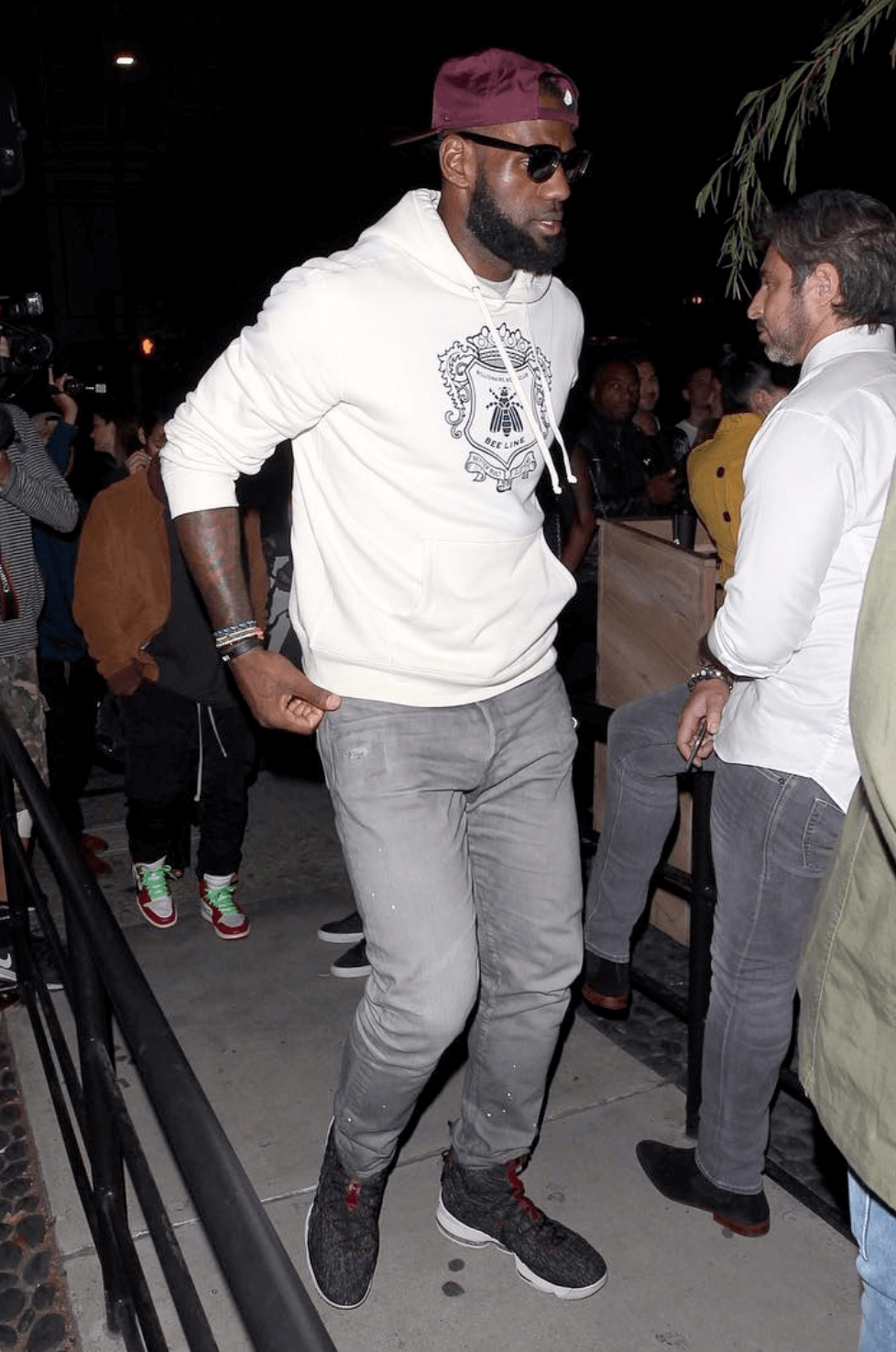 Lebron James in the Nike Lebron 15