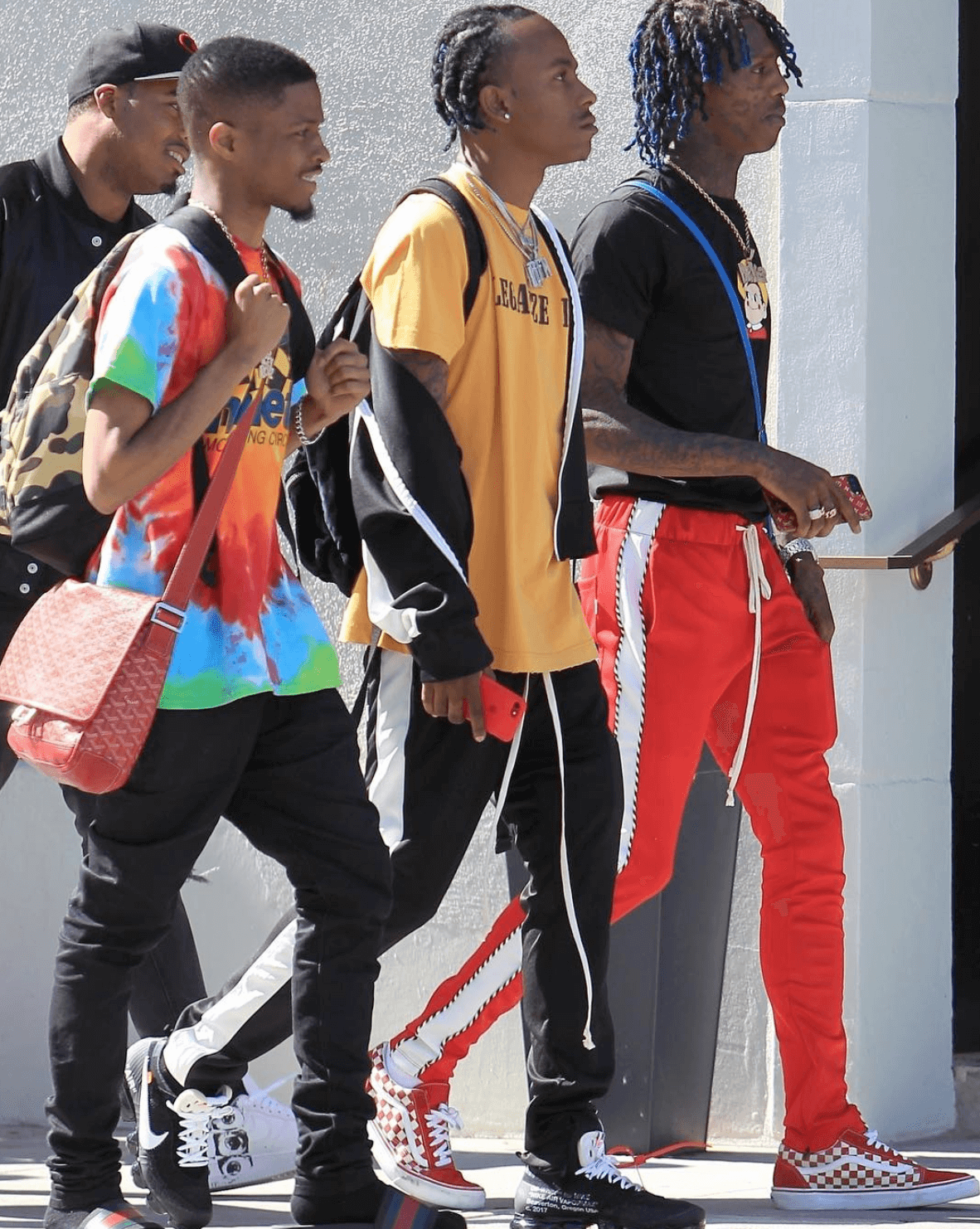 "Rich the Kid in the The 10"" Nike Air Vapormax"" & Famous Dex in the Vans Old School"