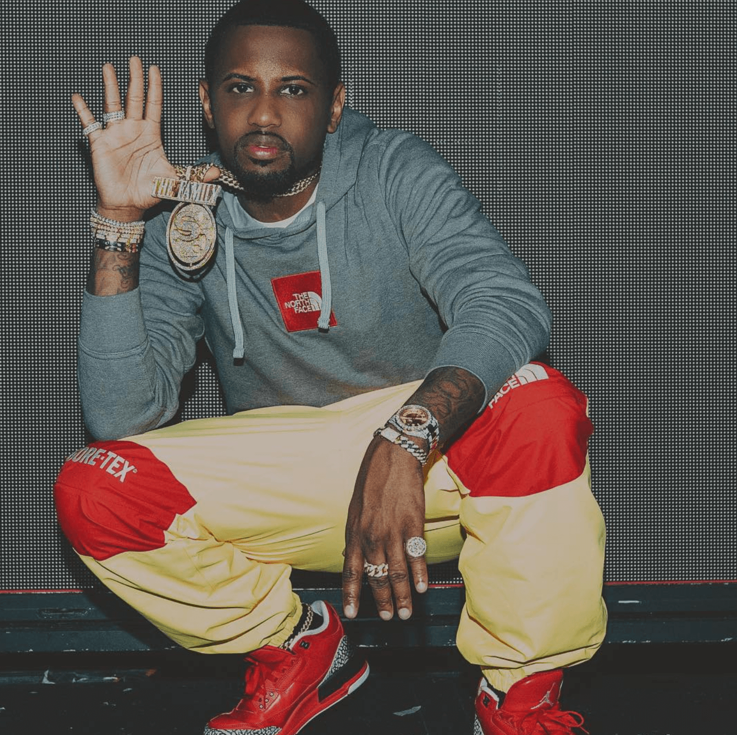 "Fabolous in the Air Jordan 3 Retro ""Grateful"""