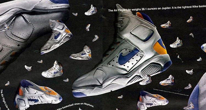 Nike Air Flight Lite // Throwback