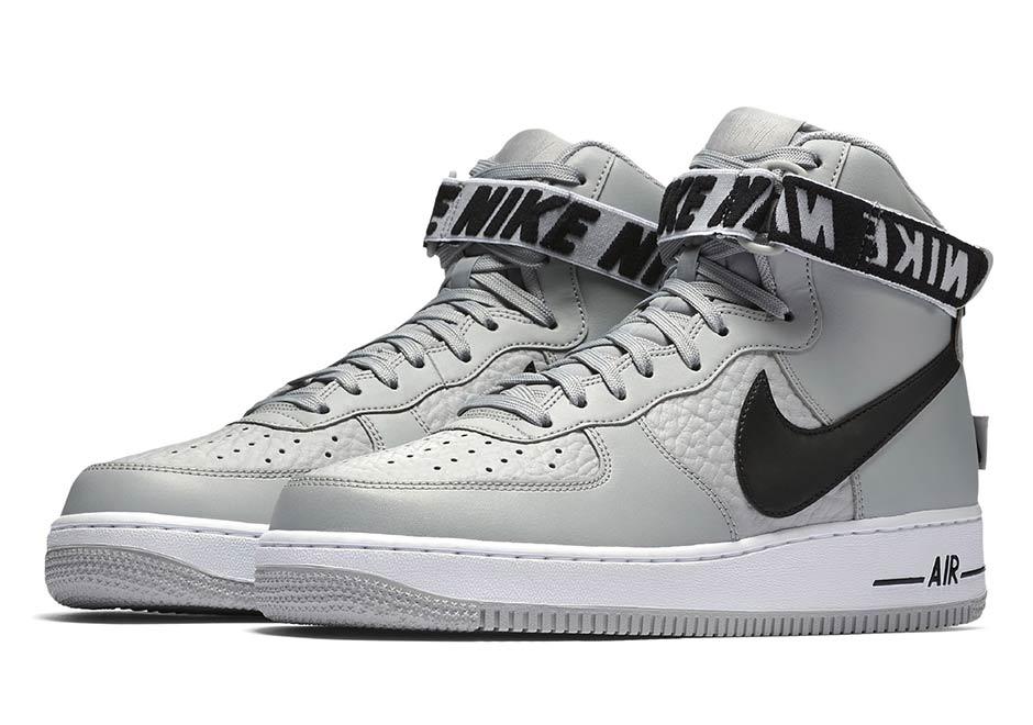 Nike Air Force 1 High Nba Pack Features Nba Logo Nice Kicks
