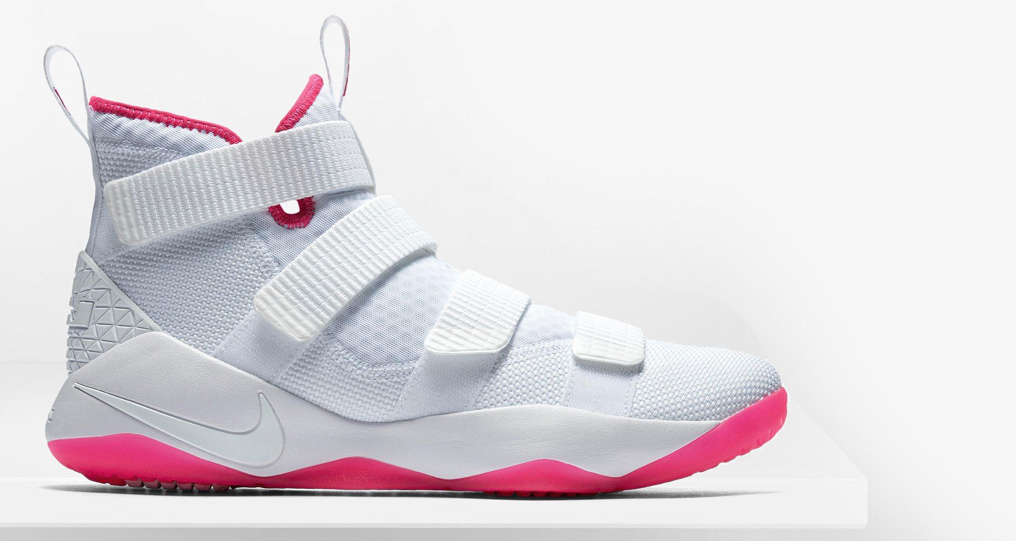 "Nike LeBron Soldier 11 ""Kay Yow"" // Available Now | Nice Kicks"