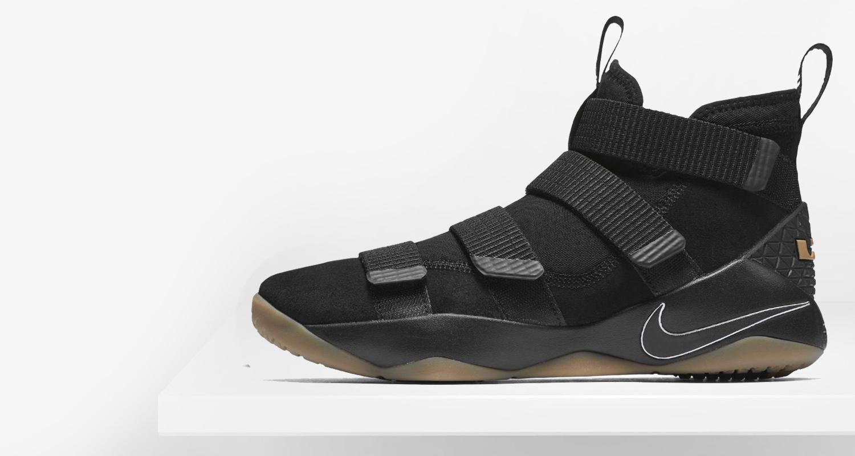 Nike LeBron Soldier 11 Black/Gum // Preview | Nice Kicks