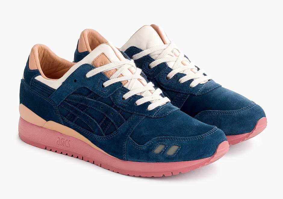 Packer Shoes x J.Crew x ASICS Gel Lyte III