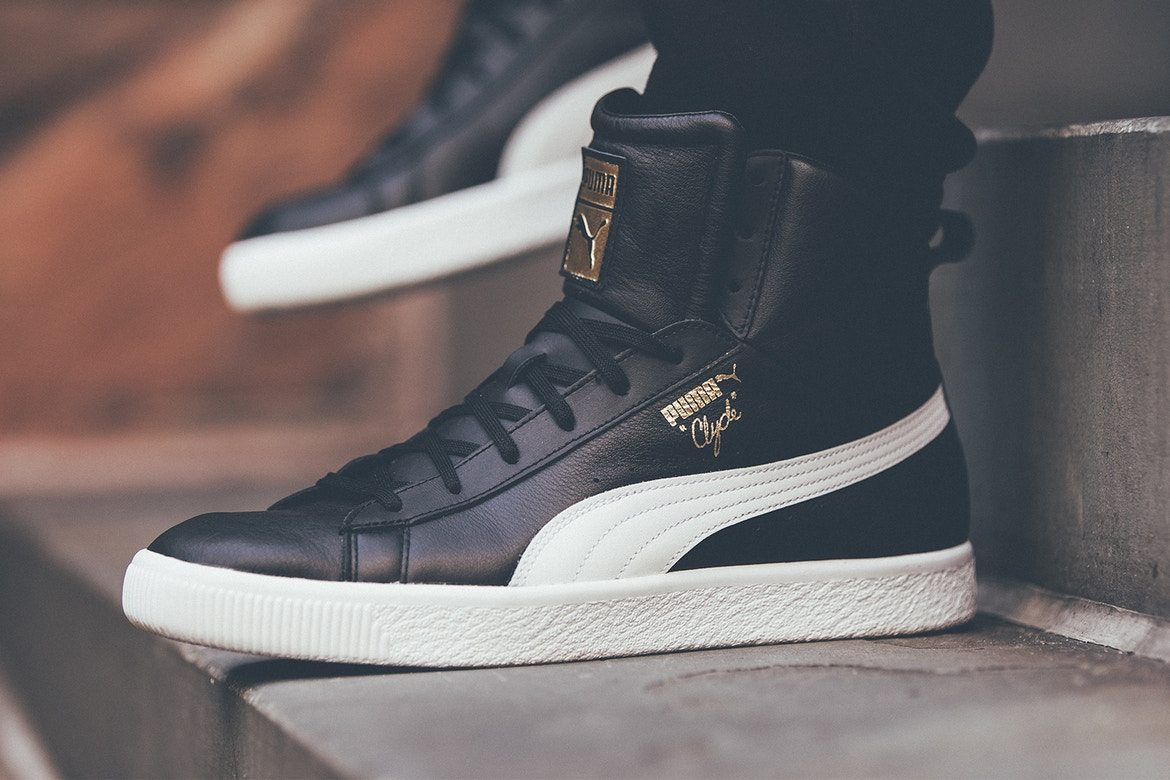 PUMA Clyde Core Mid // Detailed Look