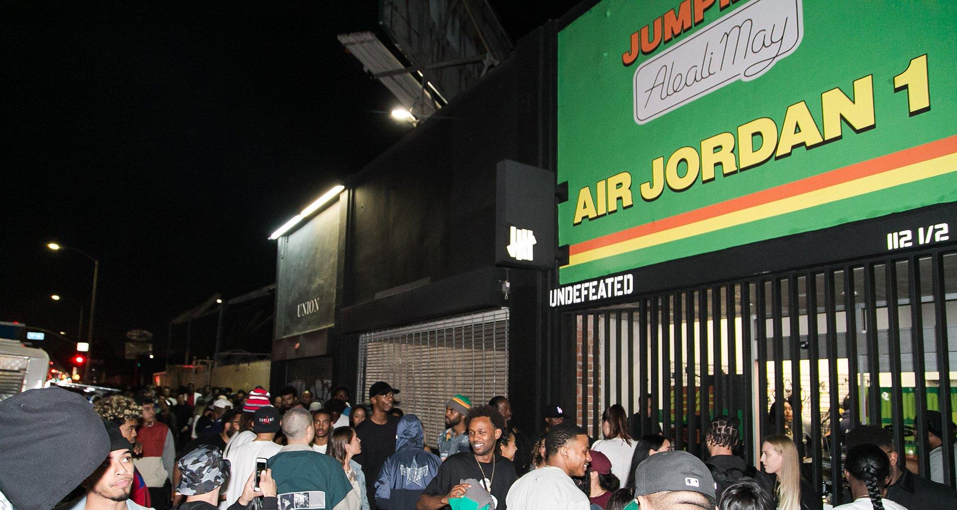 Aleali May Air Jordan 1 Pop-Up