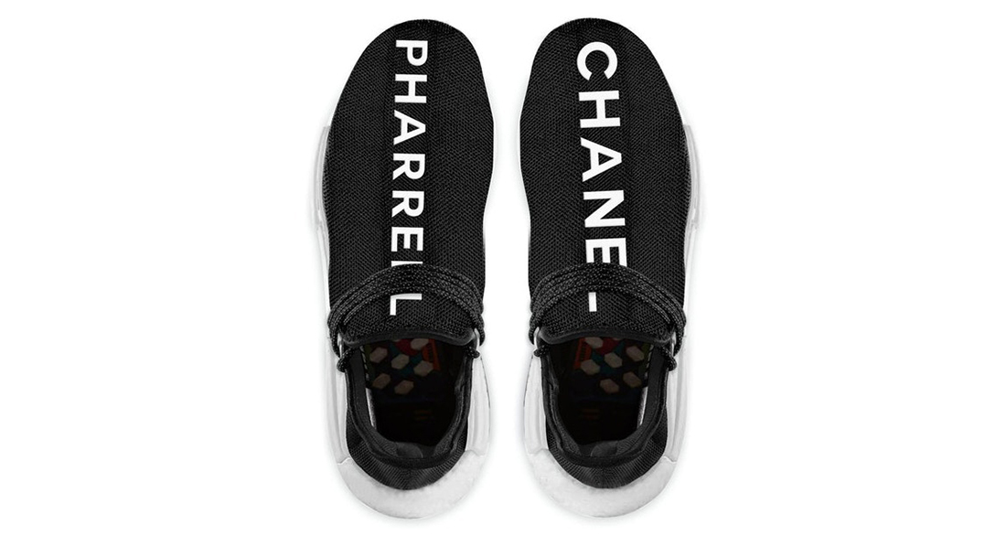 Chanel x Pharrell x adidas NMD Hu Trail