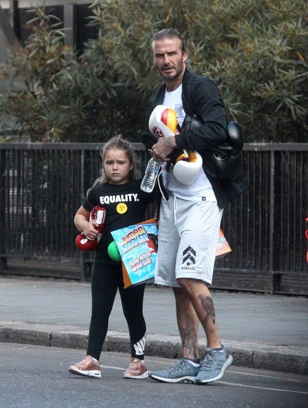 David Beckham in the adidas PureBOOST