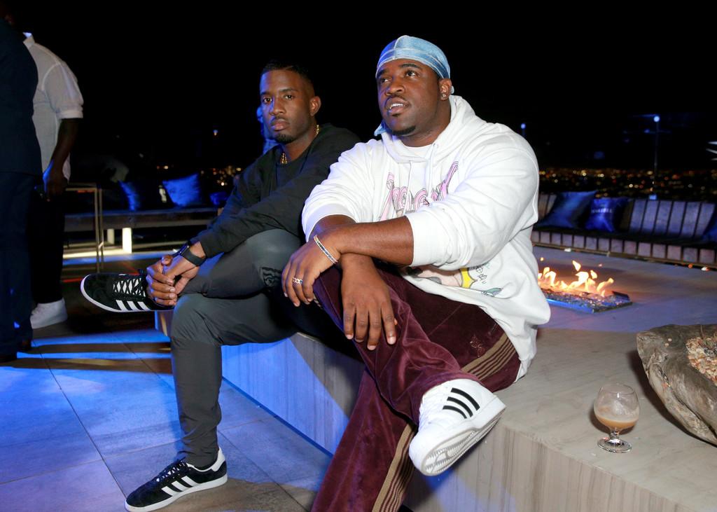 A$AP Ferg in the adidas Superstars, Kwasi Kessie in the adidas Gazelles