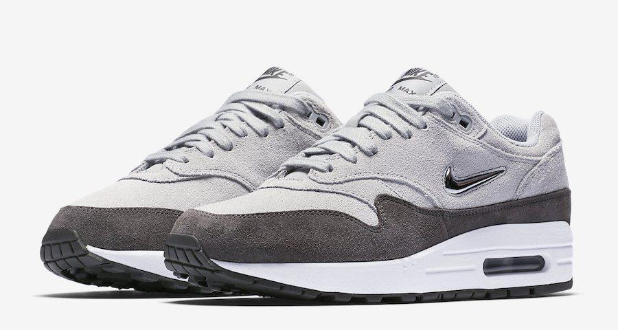 The Nike Air Max 1 Jewel Metallic Silver Is Dropping Soon