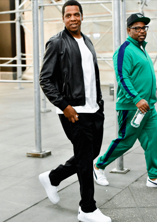 """Jay Z in the Nike Air Force 1 Low """"Def Jam"""""""