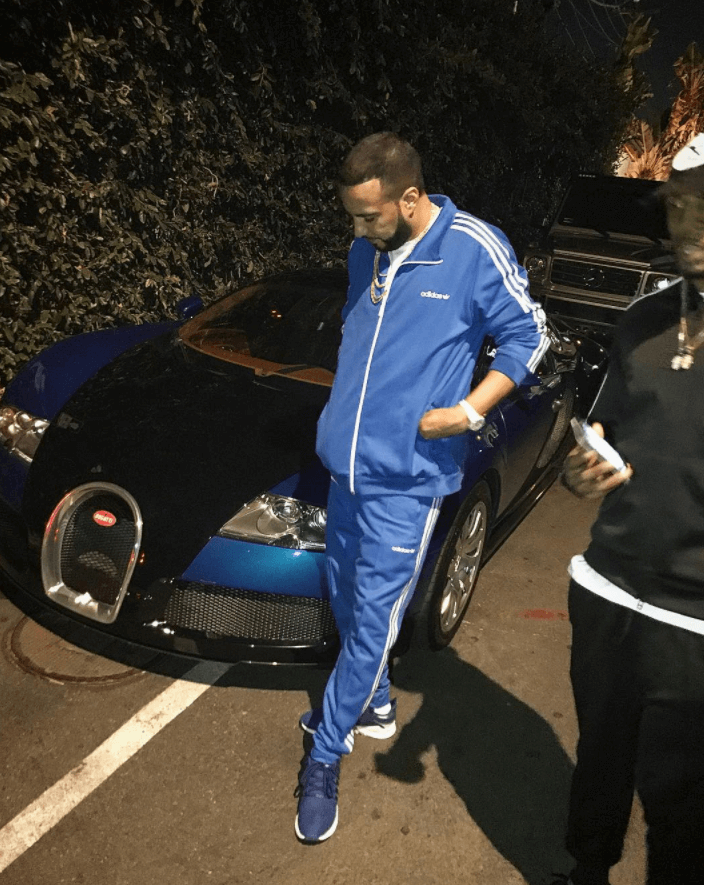 French Montana in the adidas EQT Support RF