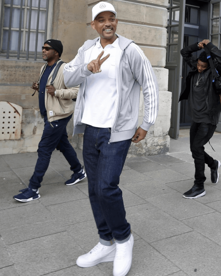Will Smith in the Nike Air Force 1 Low