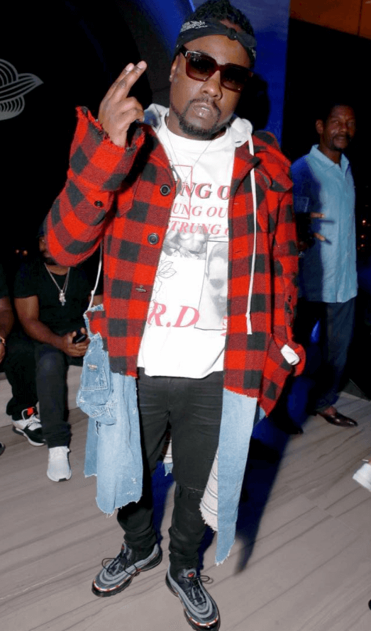 Wale in the Undefeated x Nike Air Max 97