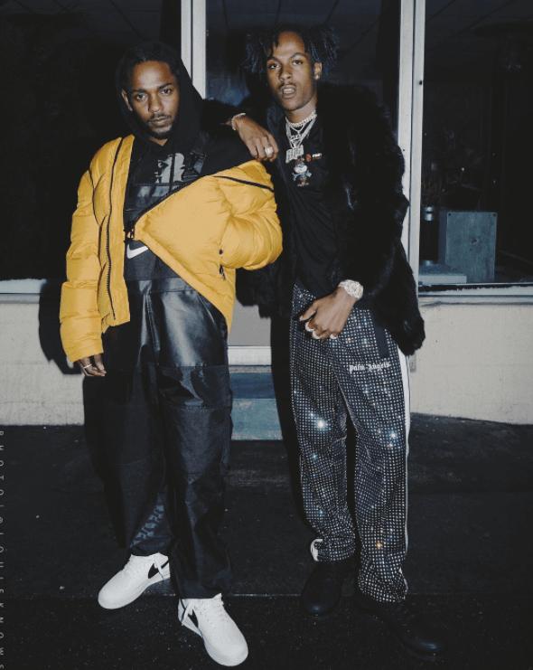 Kendrick Lamar in the Nike Air Force 1 Low