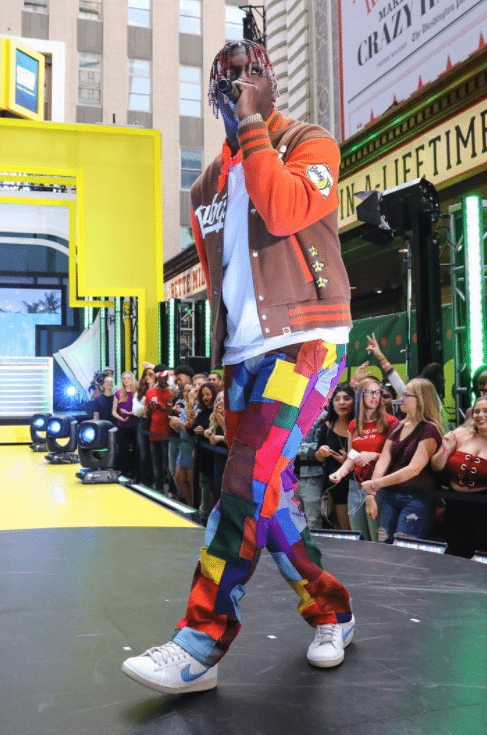 Lil Yachty in the Nike Bruins