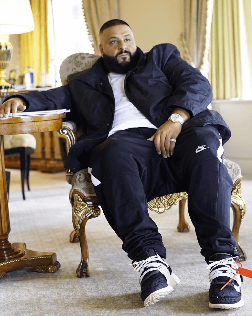 "DJ Khaled in the Nike The 10 ""Air Presto"""