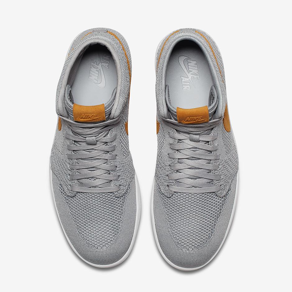 "Air Jordan 1 Flyknit ""Wolf Grey"""