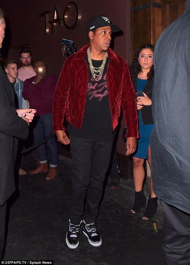 "Jay Z in the Air Jordan 3 Retro ""Black Cement"""