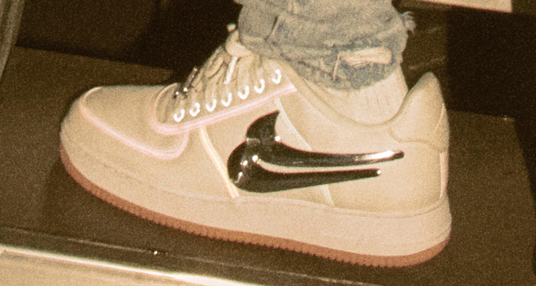 Travis Scott X Nike Air Force 1 Low Release Date Nice