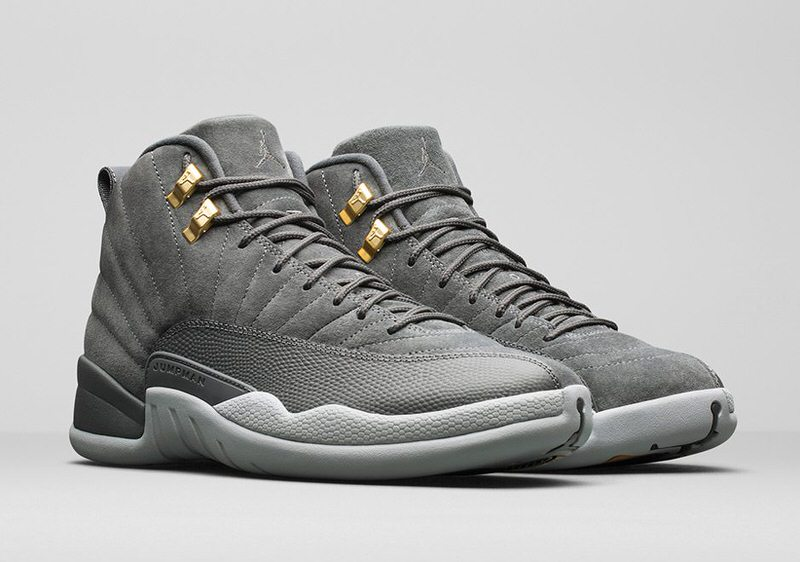 "Air Jordan 12 ""Dark Grey"""
