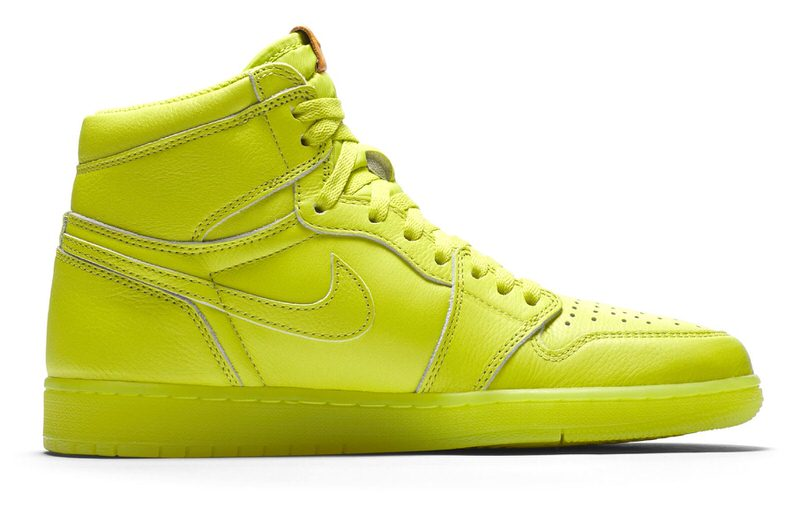 "Air Jordan 1 ""Lemon Lime"""